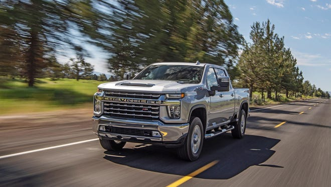 The 2020 Chevrolet Silverado 2500 HD Z71 can tow up to 18,510 pounds (up to 35,500 if you opt for the 3500).