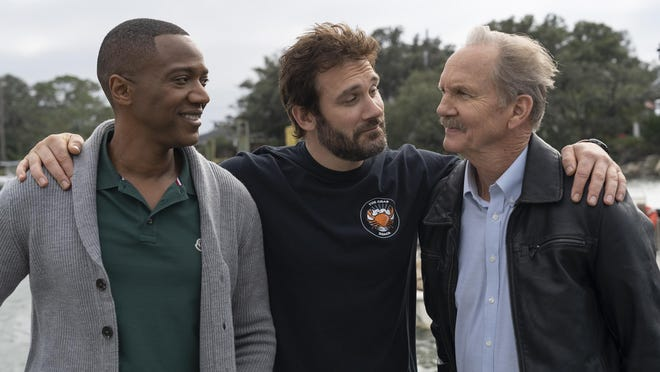 """J. August Richards, from left, Clive Standen and Michael O'Neill starred in  """"Council of Dads."""" A second season of the show is not on NBC's fall agenda."""