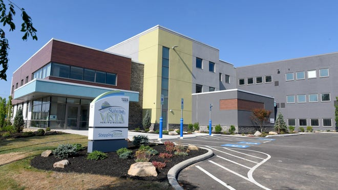 Sunrise Vista Health & Wellness is a 72-bed behavioral health and treatment center in Canton. The facility, which replaces the Canton Healthcare Center, is set to reopen.