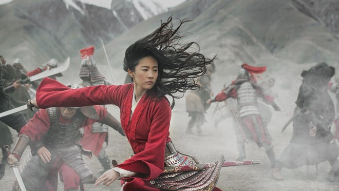 "Yifei Liu stars as the title character in ""Mulan."""
