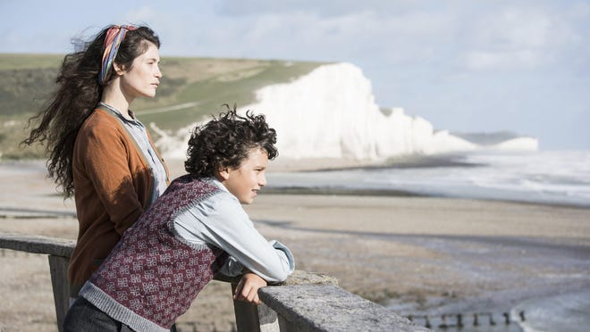 "Alice (Gemma Arterton), left, takes in a young evacuee from London named Frank (Lucas Bond) in ""Summerland."""