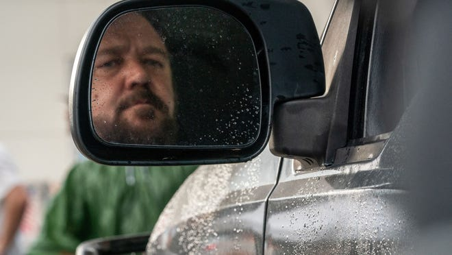 Russell Crowe plays it grim and frightening.