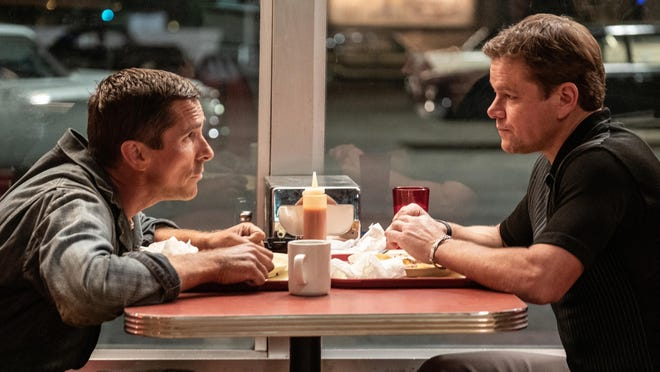 """Oscar best picture nominee """"Ford v. Ferrari,"""" starring Matt Damon and Christian Bale, comes to HBO on Saturday, June 20."""