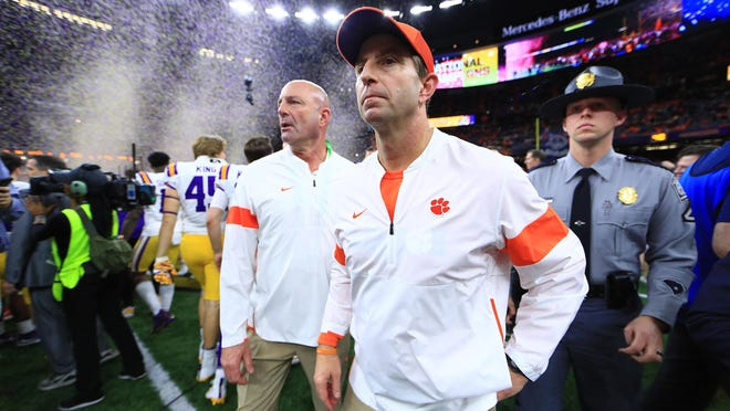 Clemson head coach Dabo Swinney knows quarterbacks. The guy who signed Deshaun Watson and Trevor Lawrence, however, raised recruiting eyebrows when he offered a Georgia high school quarterback over FaceTime without ever having met him. What's more, Bubba Chandler, who has started only one season at quarterback, was committed to play baseball for Georgia. Now Chandler is part of Clemson's 2021 class.