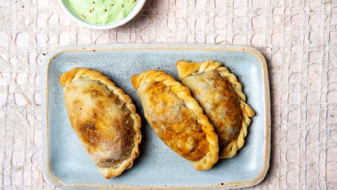 Picadillo empanadas are a kid-friendly snack or meal, and you can adjust the filling to what you have on hand.