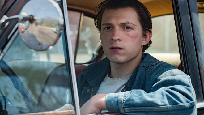 """Tom Holland as Arvin Russell in """"The Devil All The Time"""""""