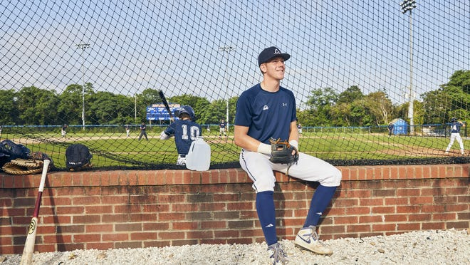 """""""You could put him at any school in the country, and I feel like he would compete for a starting job,"""" Team Cape Cod manager Dan Proto said. """"The persona he puts out is that he's just like everybody else, when if you watch him play, he's clearly not."""""""