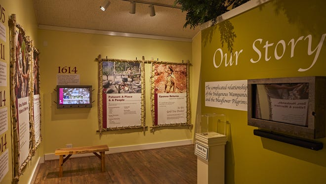 "Provincetown Museum reopened Saturday with a new exhibit, ""Our Story: The Early Days of the Wampanoag Tribe and the Pilgrims Who Followed."" The exhibit provides a more historically accurate accounting of the Pilgrims' arrival from the standpoint of the tribe."