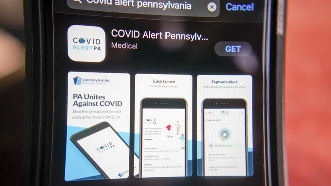 The release of Pennsylvania's new coronavirus exposure-notification app Tuesday is part of Pennsylvania's effort to more quickly break chains of transmission by using the new technology to notify people who may have been exposed.