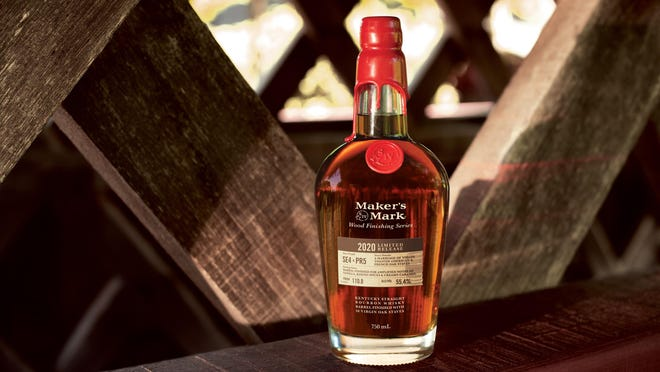 Maker's Mark recently released a complex bourbon in their Wood Finishing Series: Maker's Mark 2020 Limited Release. It's a mouthful in more ways than one, with a creamy vanilla and caramel flavor.