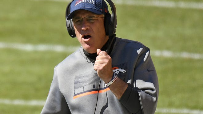 """""""I think from the start of this season, all the way back to when training camp started, we all knew that the NFL would not go clean with no positive tests for the entire season,"""" Broncos head coach Vic Fangio said."""