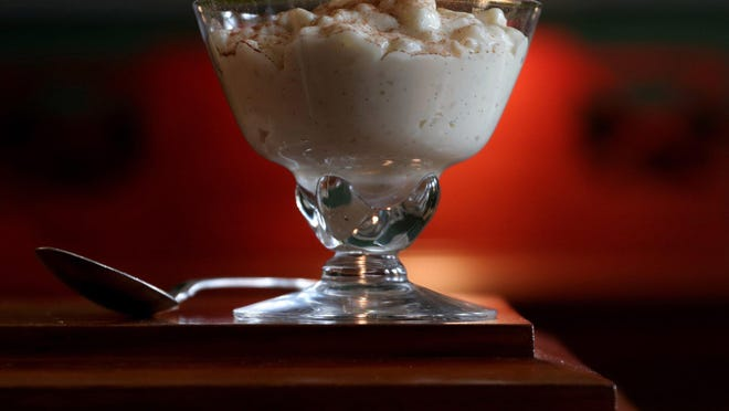 Old-Fashioned Pearl Tapioca Pudding.