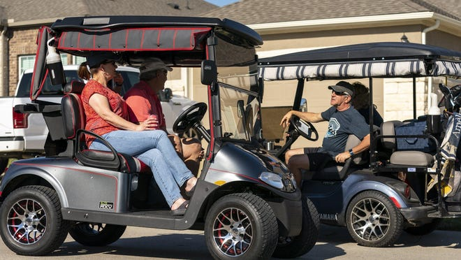 The Bastrop City Council approved an ordinance last month allowing golf cart use on city streets and highways with a posted speed limit of 35 mph or less.