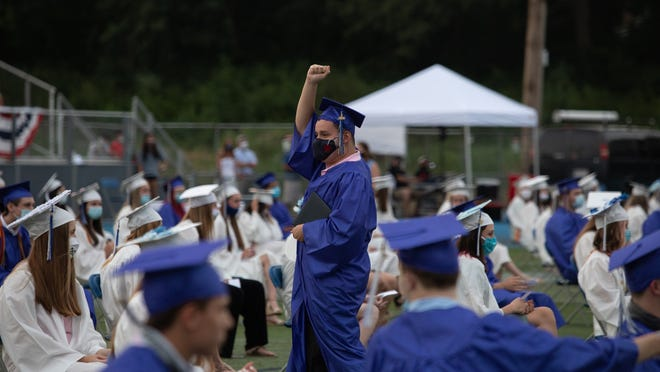 Braintree High School held a graduation ceremony on July 30 at the high school.