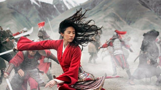 "Yifei Liu in the title role of ""Mulan."""
