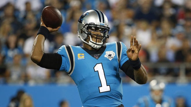 The New England Patriots hope that newly signed quarterback Cam Newton is fully healthy and is able to return to his MVP form.
