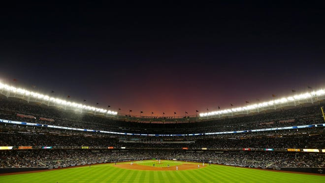 The New York Yankees play host to the Minnesota Twins during Game 2 of the American League Division Series at Yankee Stadium in New York on October 05, 2019.