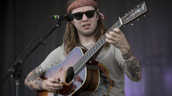 Billy Strings performs at the Austin City Limits Music Festival in Zilker Park on Sunday October 6, 2019.