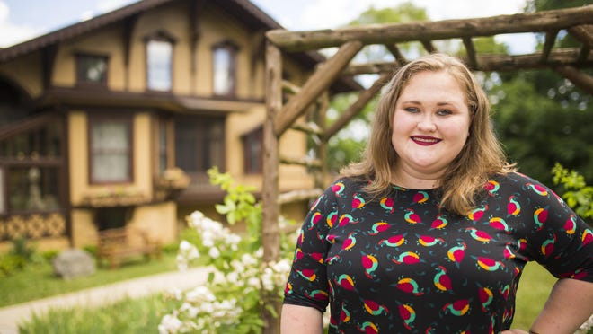 Samantha Hochmann is the executive director of Tinker Swiss Cottage Museum & Gardens, seen here at the museum on Tuesday, June 23, 2020, in Rockford.