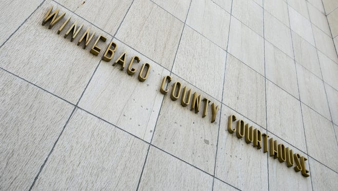 The Winnebago County Courthouse in Rockford.
