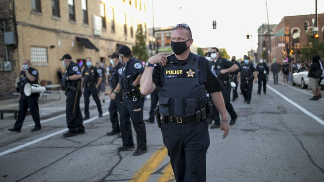 Through July 31, the Rockford Police Department had spent 58% of its overtime budget, which is $2.7 million for the entire year. At least three people were arrested Friday during protests at City Market and outside CJs Public House.