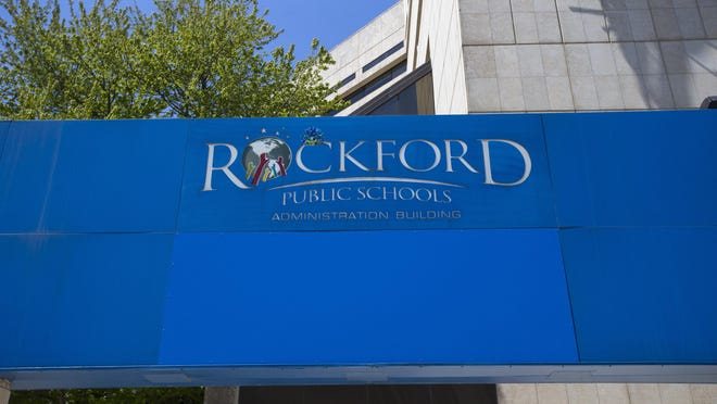 The Rockford Public Schools administration building is located at 501 Seventh St. in Rockford.