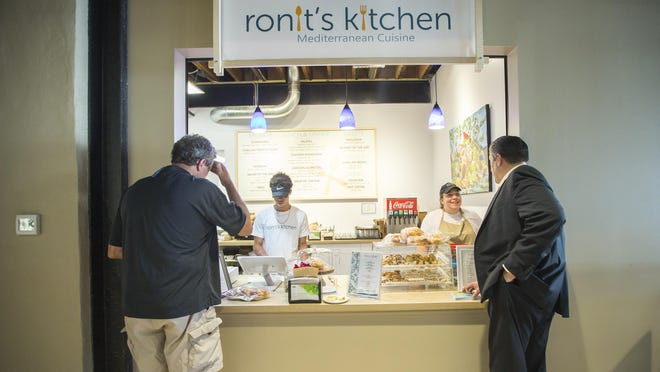 Ronit's Kitchen, seen here on June 7, 2019, inside Rockford Indoor City Market, will close Sept. 30 as a result of the coronavirus and restrictions to limit its spread.
