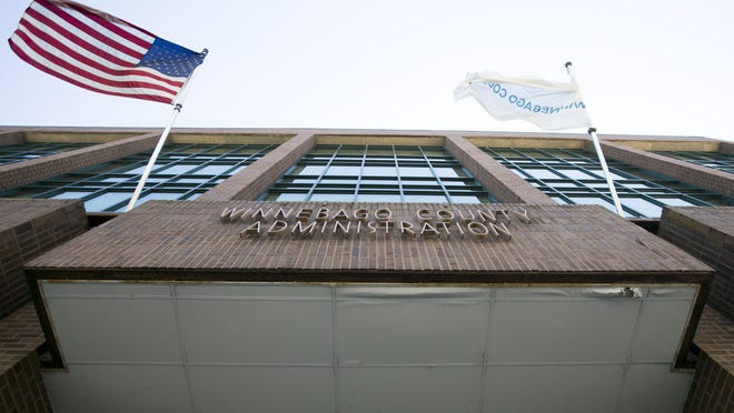 The Winnebago County Administration offices in Rockford.