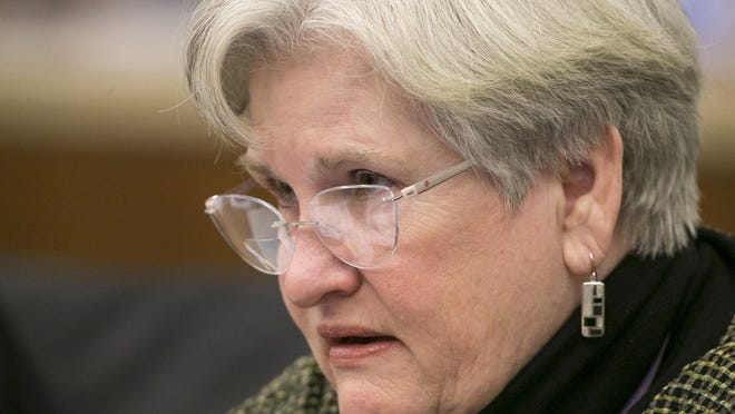 County Board member Jean Crosby, R-16, helped lead the push to allow voters to decide the form of Winnebago County government.