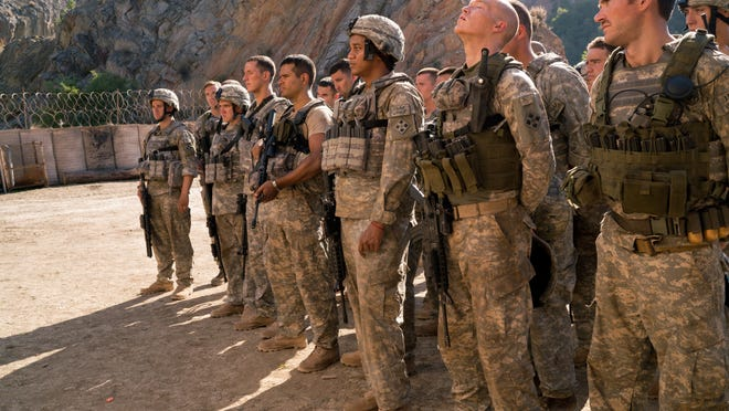 The weary men at an Army base in Afghanistan wonder when the next attack will come.