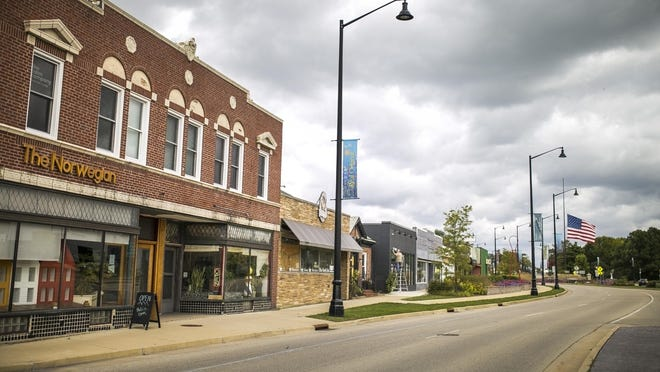 The Norwegian, 1402 N. Main Street, in Rockford is pictured on Wednesday, Sept. 30, 2020.