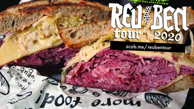 Zingerman's, a deli from the Ann Arbor area, will be bringing their famous reubens and other sandwiches to the Cheboygan area this Saturday, at the Cheboygan Brewing Company. Contributed photo