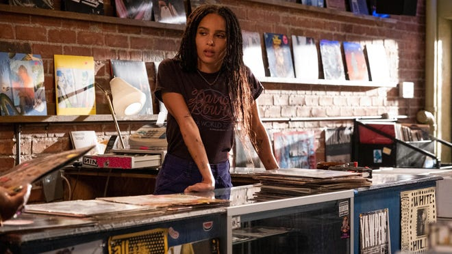 "Zoe Kravitz as ""Robyn"" in ""High Fidelity."""