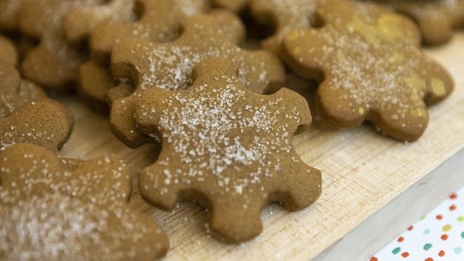 Gingerbread cookies have been part of the Driskill Hotel's Cookies for Caring, which benefits the Season for Caring program.