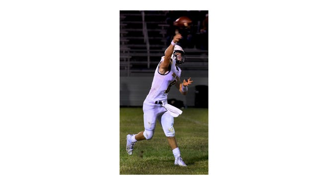Erie Mason's Noah Beaudrie has thrown for 781 yards and 12 touchdowns through three games.