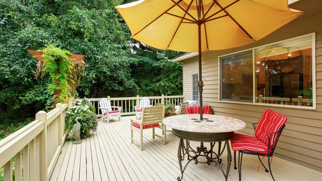 Inspecting and thoroughly cleaning your deck at least once a year will keep it in tip-top shape.