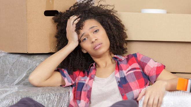 Summer is a popular time for the stress of moving.