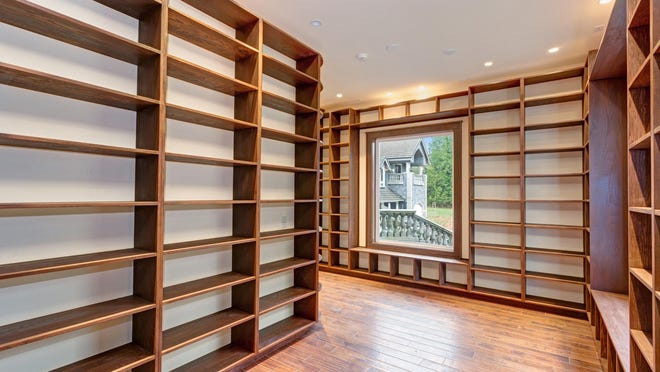Built-in bookshelves can add efficient use of space and a great aesthetic. Plan carefully to make the best use of the project.