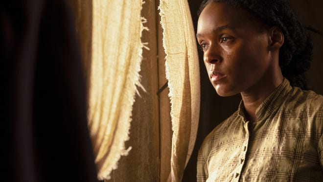 """This image released by Lionsgate shows Kansas City, Kan., native Janelle Monae in a scene from """"Antebellum."""""""