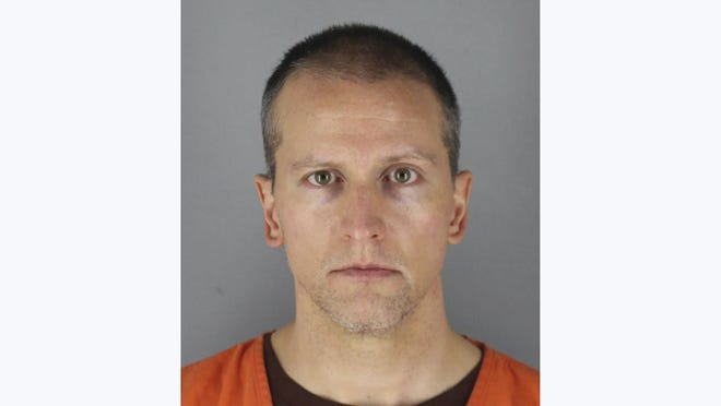 FILE - This May 31, 2020 photo provided by the Hennepin County Sheriff shows former Minneapolis police officer Derek Chauvin, who was arrested Friday, May 29, in the Memorial Day death of George Floyd. Prosecutors are charging Chauvin, accused of pressing his knee against Floyd's neck, with second-degree murder, and for the first time will level charges against three other officers at the scene, a newspaper reported Wednesday, June 3, 2020.