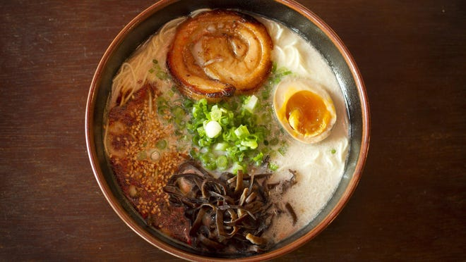 Ramen, like the kind served at Ramen Tatsu-Ya, is just one dish that can help keep your warm when the weather gets cold.