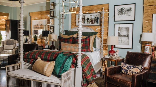 Plaid is such a versatile pattern that it can be mixed and matched with so many different textiles and can deliver a big impact whether it is used sparingly or as a main focal point, which makes it fun to play with.