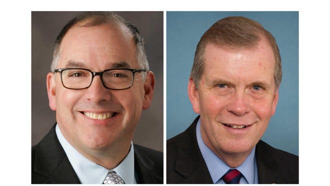 State Rep. Joe Bellino, R-Monroe; U.S. Rep. Tim Walberg, R-Tipton