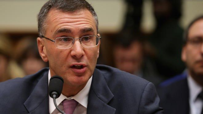 Massachusetts Institute of Technology Economics professor Jonathan Gruber testifies before the House Oversight and Government Reform Committee about his work on the Affordable Care Act on Dec. 9, 2014 in Washington.