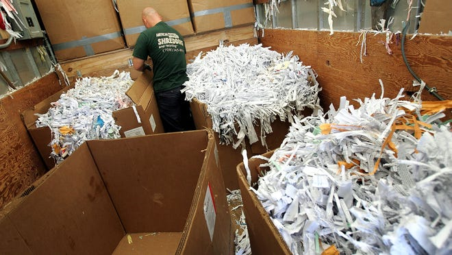 Have your documents shredded at Glassboro's Open Shred Day Event. The paper will then be recycled.
