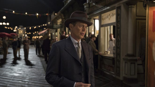 "Steve Buscemi in ""Boardwalk Empire."" The series ends its run at 9 p.m. Sunday on HBO."