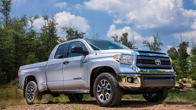 2014 Toyota Tundra. Toyota is increasing production of its Tacoma and Tundra pickups as well as its Highlander SUV.