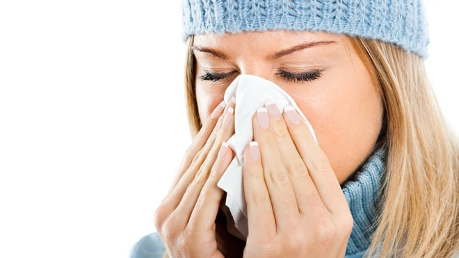 Some fall and winter colds might actually be allergies.