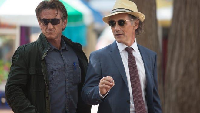 "Sean Penn and Mark Rylance star in ""The Gunman."""