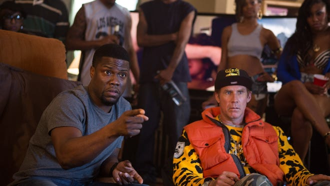 "Kevin Hart schools Will Ferrell on prison survival in ""Get Hard."""